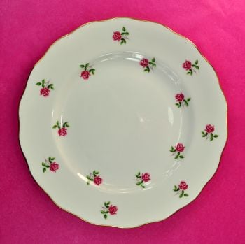 Colclough Fragrance Ditsy Pink Roses 21cm Plates Set