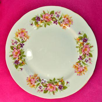 Colclough Wayside Hedgerow Pattern 20cm Plates Set