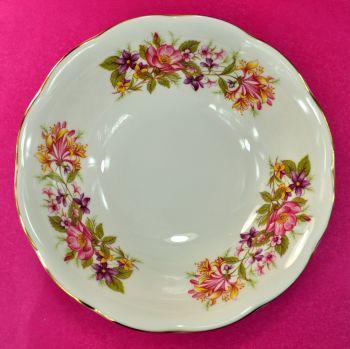 Colclough Wayside Hedgerow Pattern Dessert Dishes Set