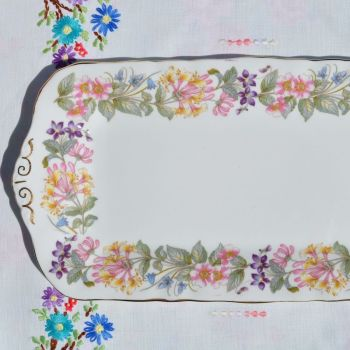 Paragon Country Lane Sandwich or Cake Serving Tray  c.1957+