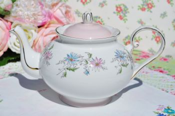 Royal Grafton Summer's Day Hand Painted Teapot c.1960s