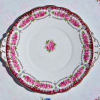 Roslyn China Buckingham Cake Plate c.1958-63