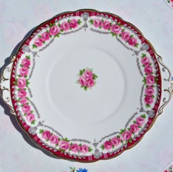 Roslyn Buckingham Vintage Cake Serving Plate c.1958-63