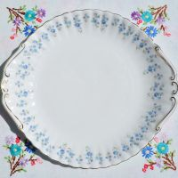Royal Albert Memory Lane Cake Plate c.1970s