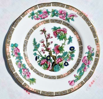 Duchess Indian Tree Pattern Tea Plates Set of Six