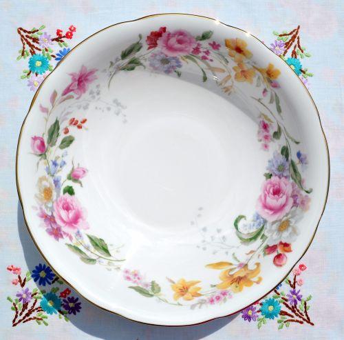 Duchess Memories Floral Pattern Dessert Dish Set