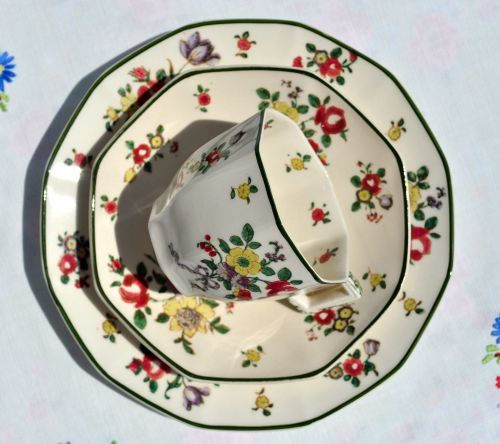 Teacup, Saucer and Tea Plate