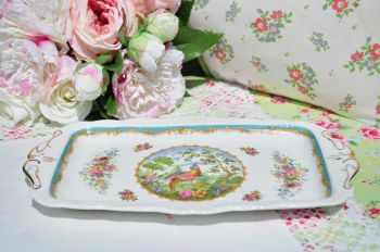 Royal Albert Chelsea Bird Sandwich Tray c.1950s