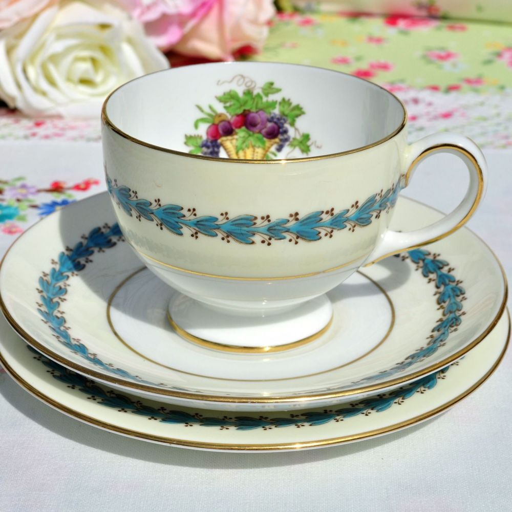 Wedgwood Appledore Teacup Trio c.1960s