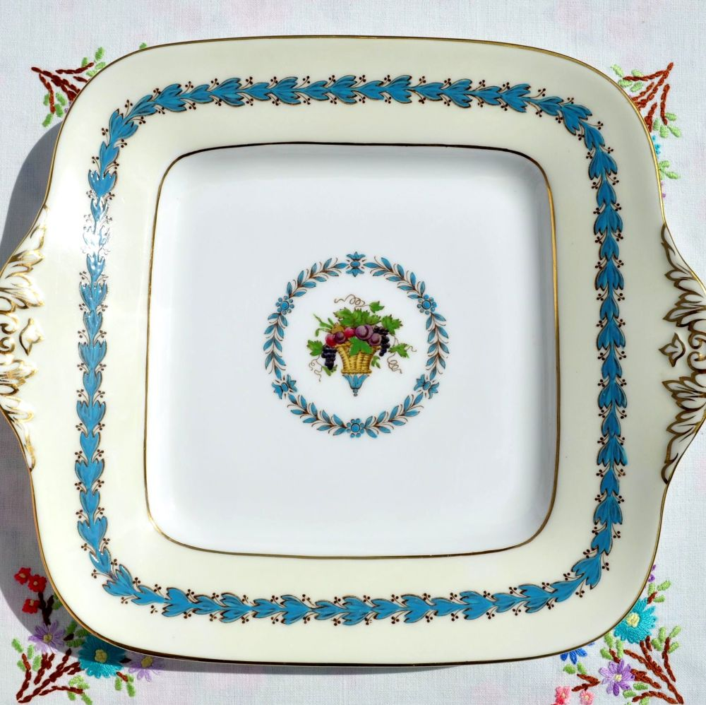 Wedgwood Appledore Bread and Butter or Cake Serving Plate c.1960s