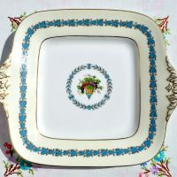 Wedgwood Appledore Pattern Bread and Butter or Cake Plate c.1960s