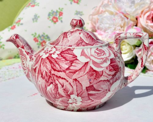 Burleigh Ware Victorian Chintz Teapot