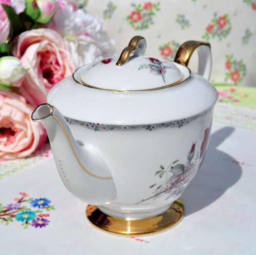 Gold Gilded Footed Teapot