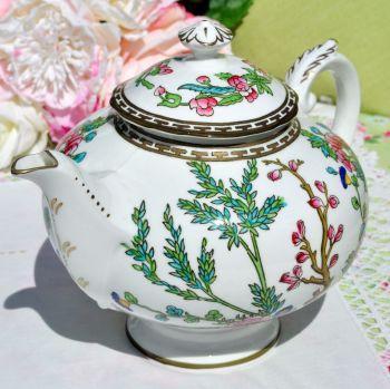 Coalport Indian Tree Hand Painted Ornate Teapot c.1920-39