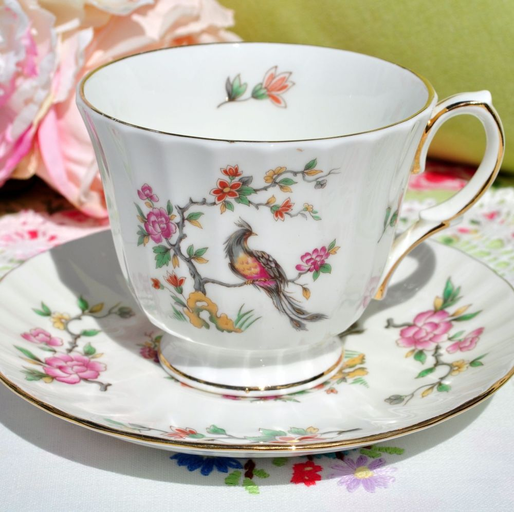 Duchess Oriental Pattern Teacup and Saucer c.1950s
