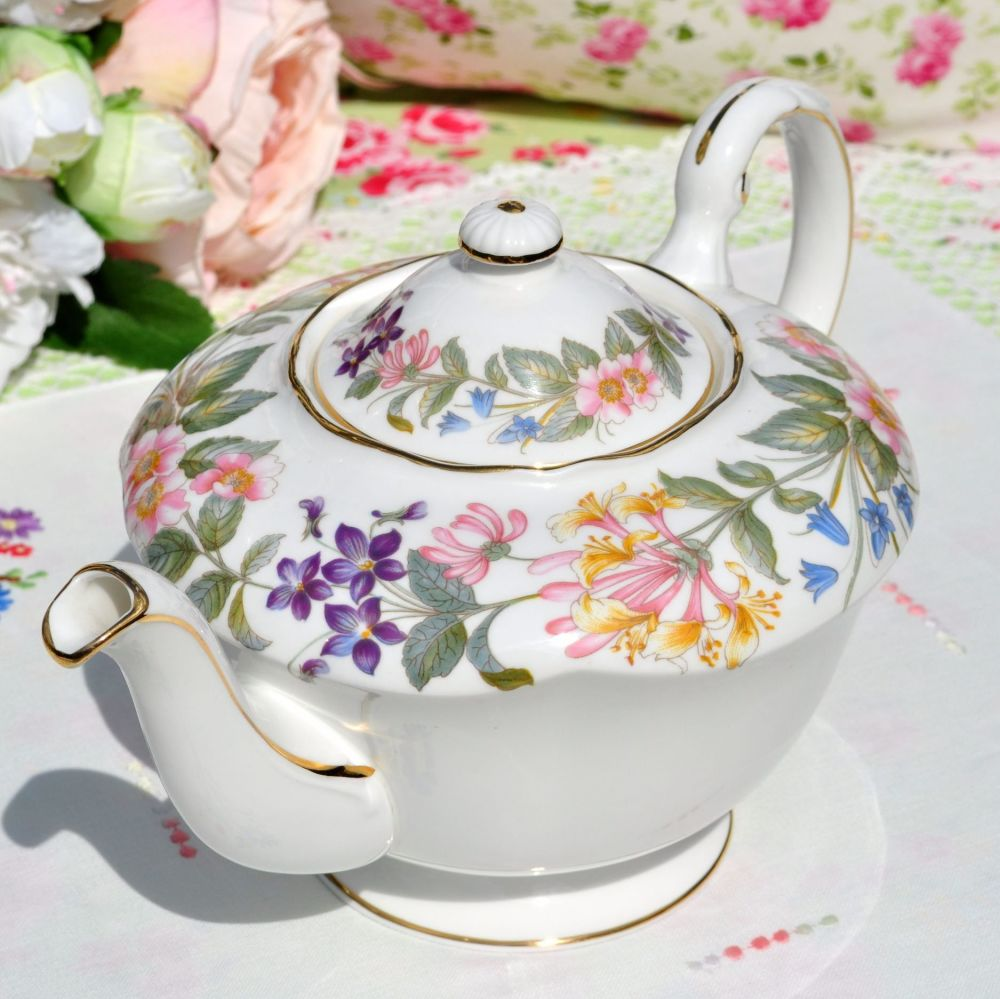 Paragon Country Lane Vintage Teapot c.1957+