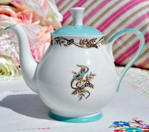 Roslyn Symphony China Two Cup Teapot c.1955+