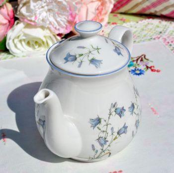 Elizabethan Moorland Harebell Pattern One Pint China Teapot