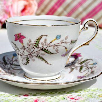 Royal Standard Fancy Free Vintage Teacup and Saucer c.1949