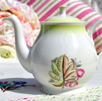 Roslyn Retro China Two Cup Teapot c.1955+