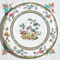 Spode Elysee Vintage Fine China Gateau Cake Plate