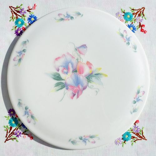 Aynsley Little Sweetheart Gateau Serving Plate