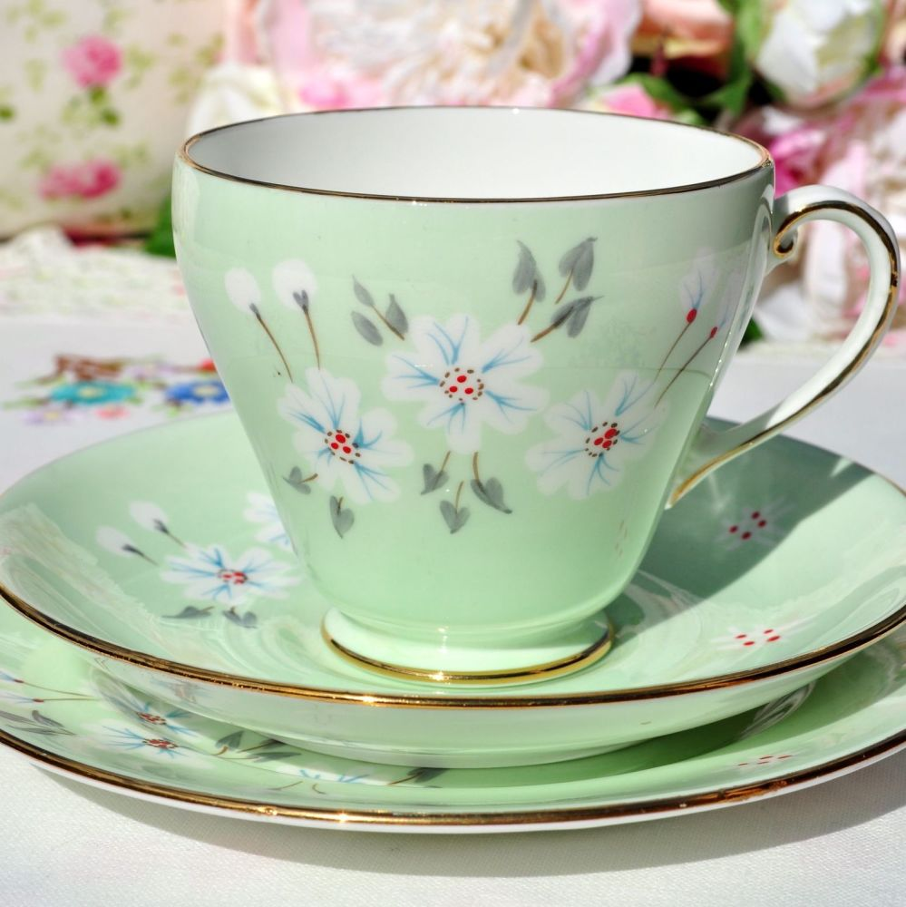 Royal Grafton Studio Craft Teacup Trio c.1957+