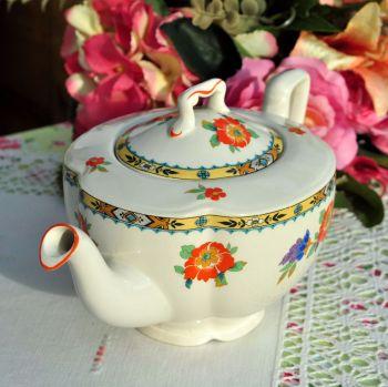 Johnson Bros. Pareek Vintage Ceramic Teapot c.1940s