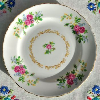 New Chelsea Vintage Floral China 20cm Plate c.1936+