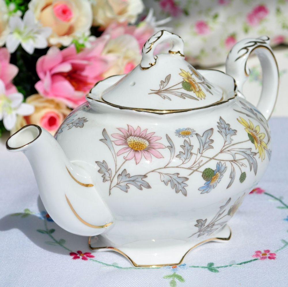 Coalport Somerset One Pint Floral Teapot c.1960s