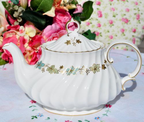 Royal Doulton Piedmont Vintage China Teapot H.4967