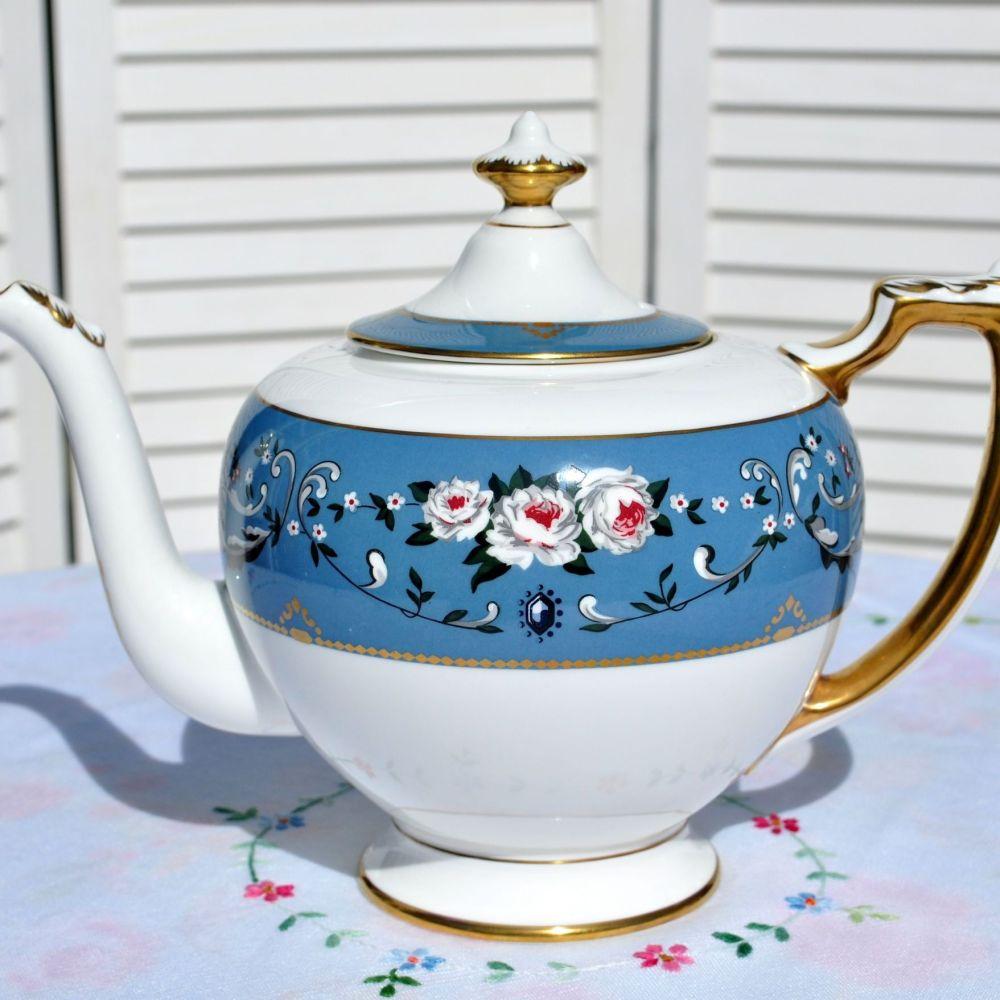 Wedgwood Ralph Lauren Annalia Large Teapot c.1980s