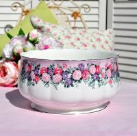 Royal Albert Rose Garland Large Salad, Fruit, Punch Bowl