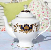 Francis and Jellyman Fine Bone China Marquis Teapot c.1970s