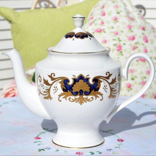 Francis and Jellyman Fine Bone China Marquis Teapot