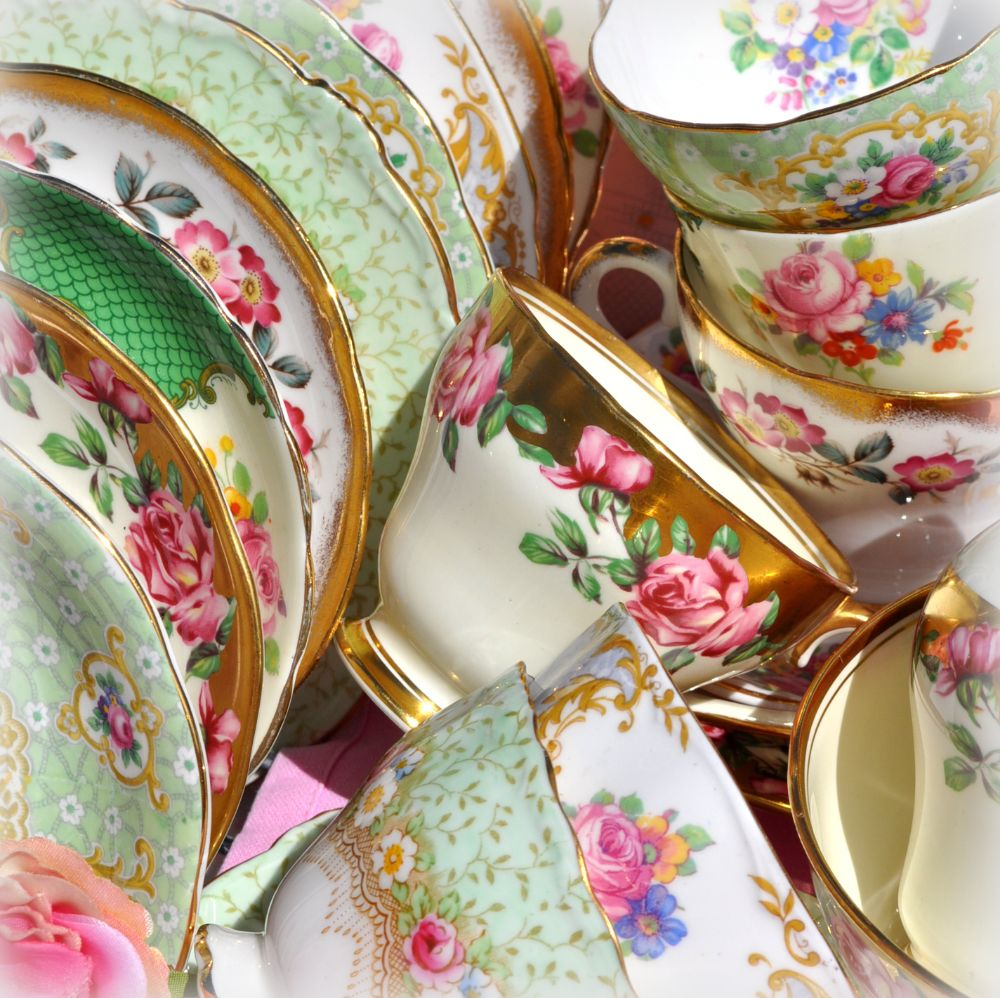 <!--005-->Vintage Tea Sets and Tea Services