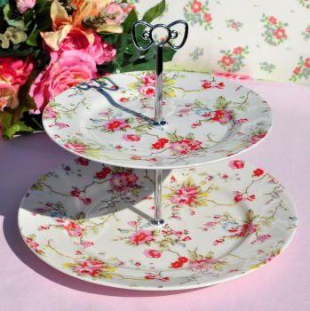 Cath Kidston 2 Tier Cake Stand