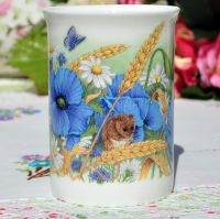 Assorted Floral China Tea Or Coffee Mugs