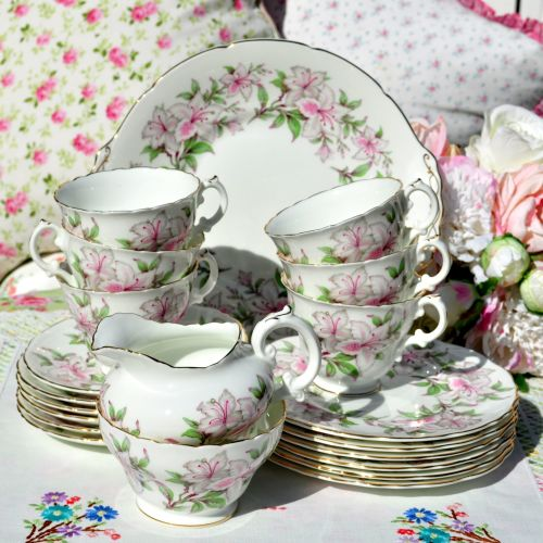 Royal Cauldon Melody Pattern 21 Piece Tea Set c.1952