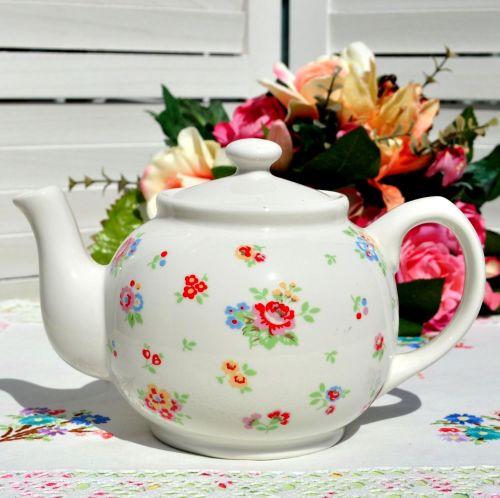 Cath Kidston Sprig Pattern Teapot