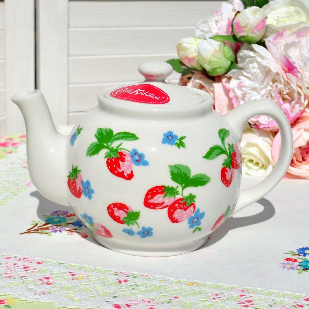Cath Kidston Strawberry Teapot
