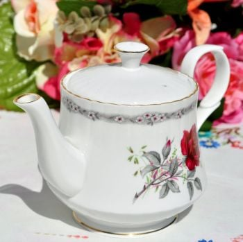 Royal Stafford Roses to Remember 1 Pint Teapot c.1950's