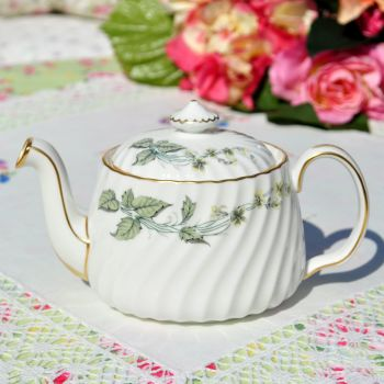 Minton Greenwich Bone China Small Teapot c.1960s