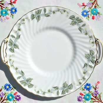 Minton Greenwich Bone China Cake Plate c.1962