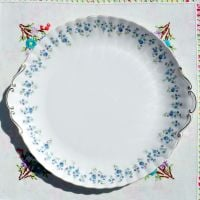 Royal Albert Memory Lane Large Celebration Cake Plate c.1970s