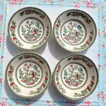 Johnson Bros. Indian Tree Dessert Bowls Set