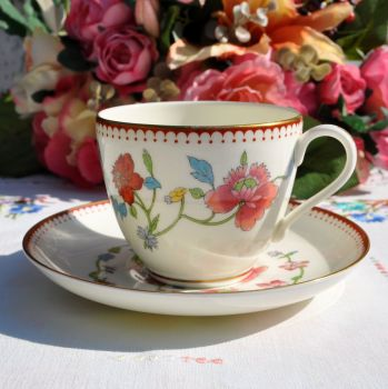 Royal Worcester Astley Teacup and Saucer c.1944-55