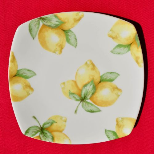 Royal Doulton Carmina Lemon Salad Plate