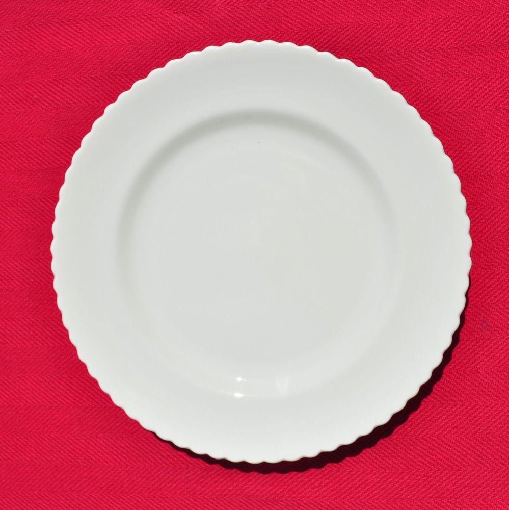Antique Aynsley China White Tea Plates Set c.1912