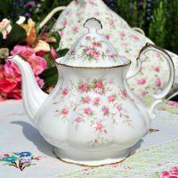 Paragon Victoriana Rose Large Vintage Teapot